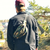 Dickies Penwell bumbag camouflage