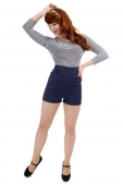 Collectif Talis blue shorts