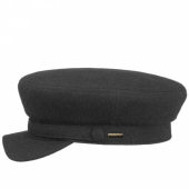 Stetson Riders Cap Wool Black