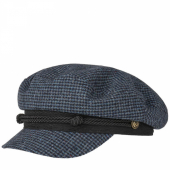 Stetson Riders Cap Wool Check
