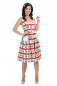 Collectif Nora abstract swing dress