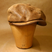 Stetson Burney Leather Cap