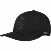 Stetson Capital S Baseball Cap Black
