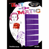 Tint-o-Matic Bobby Pins Deep purple