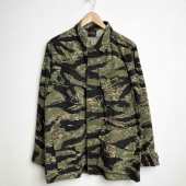 Stan Ray Tropical Jacket Stonewashed Tigerstripe Camo