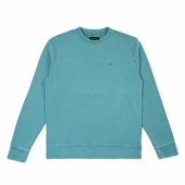 Brixton B-shield French Terry Crew Aqua