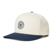 Brixton Oath 110 MP Snapback Dove/Washed Navy