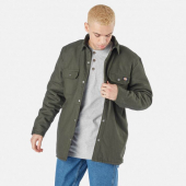 Dickies Lined Duck Shirt Jack Relaxed Olive Green