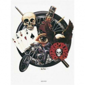 David Mann Aces High poster print