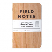 Field Notes Cherry Graph 3-pack