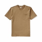 Filson Outfitter One Pocket T-shirt Rugged Tan