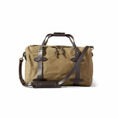 Filson Rugged Twill Medium Duffle Tan