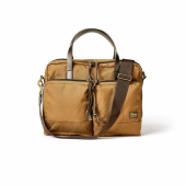 Filson Dryden Briefcase Whiskey