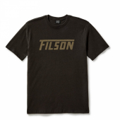Filson Outfitter Graphic T-shirt Faded Black