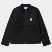 Carhartt Detroit Jacket Black Dearborn Canvas