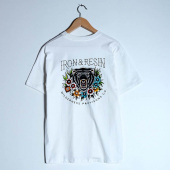 Iron & Resin Los Oso Tee White