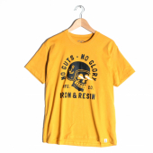 Iron & Resin No Guts No Glory Tee Antique Gold