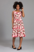 Emily and Fin Isobel Pink Floral Dress Paris Rose Garden