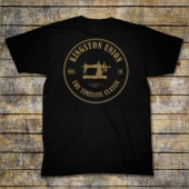Kingston Union Mfg Santa Fe Tee Black
