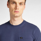 Lee Pocket Tee Dark Navy