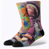 Stance Anthem Jimi flowers socks