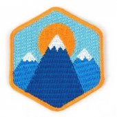 Mokuyobi Three mountains patch