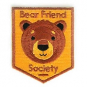Mokuyobi Bear friend society patch
