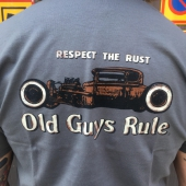 Old Guys Rule Respect the Rust Tee