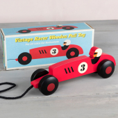 Racer pull toy