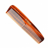 Kent handmade Small Fine/Coarse Toothed Pocket comb R7T