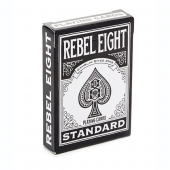 Rebel eight playing cards