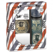 Reuzel groom & grow beard duo gift pack