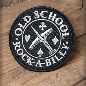 Rumble59 Patch Old School Rockabilly