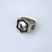 Jernhest Zack Ring Silver