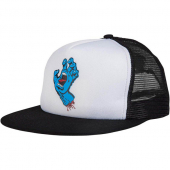 Santa Cruz Classic Screaming Hand Trucker Black/White