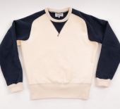 Simon James Cathcart Cream Merton Sweatshirt