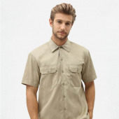 Dickies Shortsleeved work shirt khaki