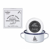 Gentlemen's Hardware shaving enamel bowl and soap
