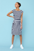 Emily and Fin Zoe dress nautical stripe