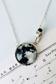 Eclectic eccentricity Moonwalk outta here silver necklace
