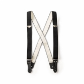 Filson Suspenders Black Regular Length