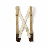 Filson Suspenders Tan Regular Length