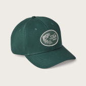 Filson Denim Logger Cap Hunter Green