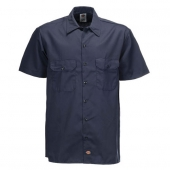 Dickies Shortsleeved Work Shirt Dark Navy