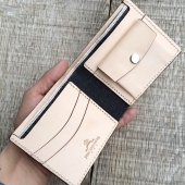 Pike Brothers 1953 Tauber Wallet Natural