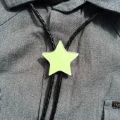 The Good Swede Bolo Tie Olive Star