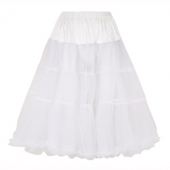 Collectif clothing Lolita petticoat white