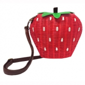 Collectif Strawberry bamboo bag