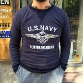 Quartermaster Inspector US Navy Blue Sweater