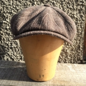 Stetson Hatteras Virgin Wool/Cotton Herringbone